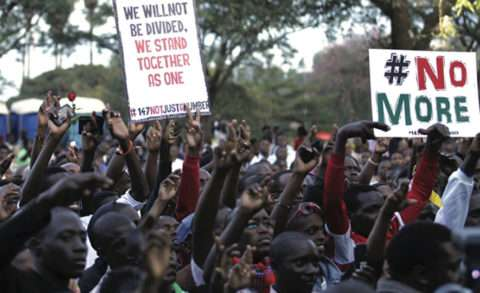 Community pledging peace in Kenya