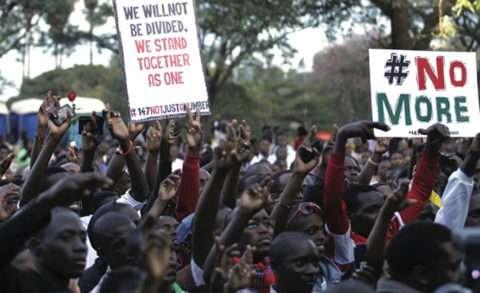 Community pledging peace in Kenya