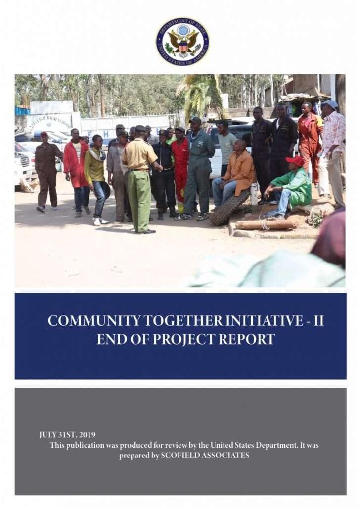 CTI-II Project report cover
