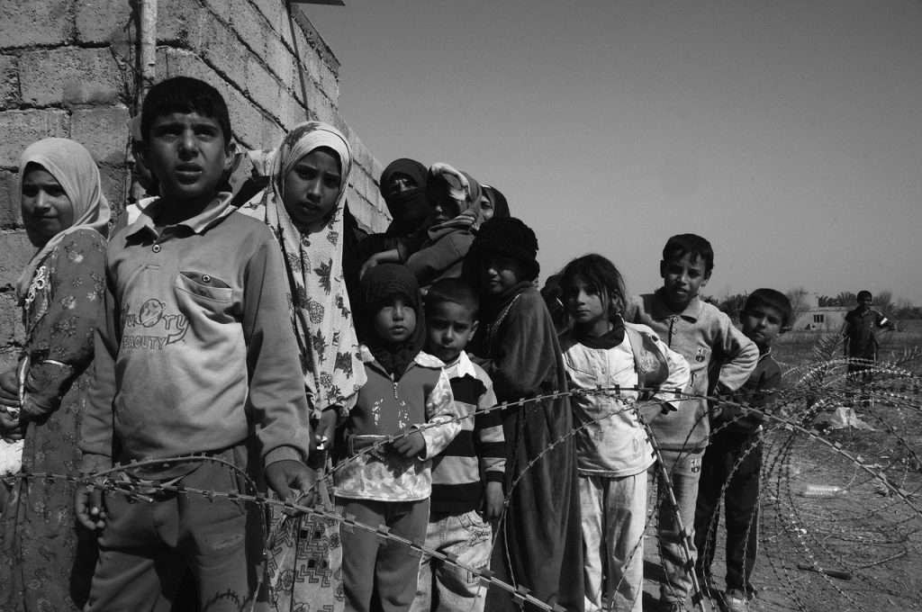 children of war, hungry, sadness