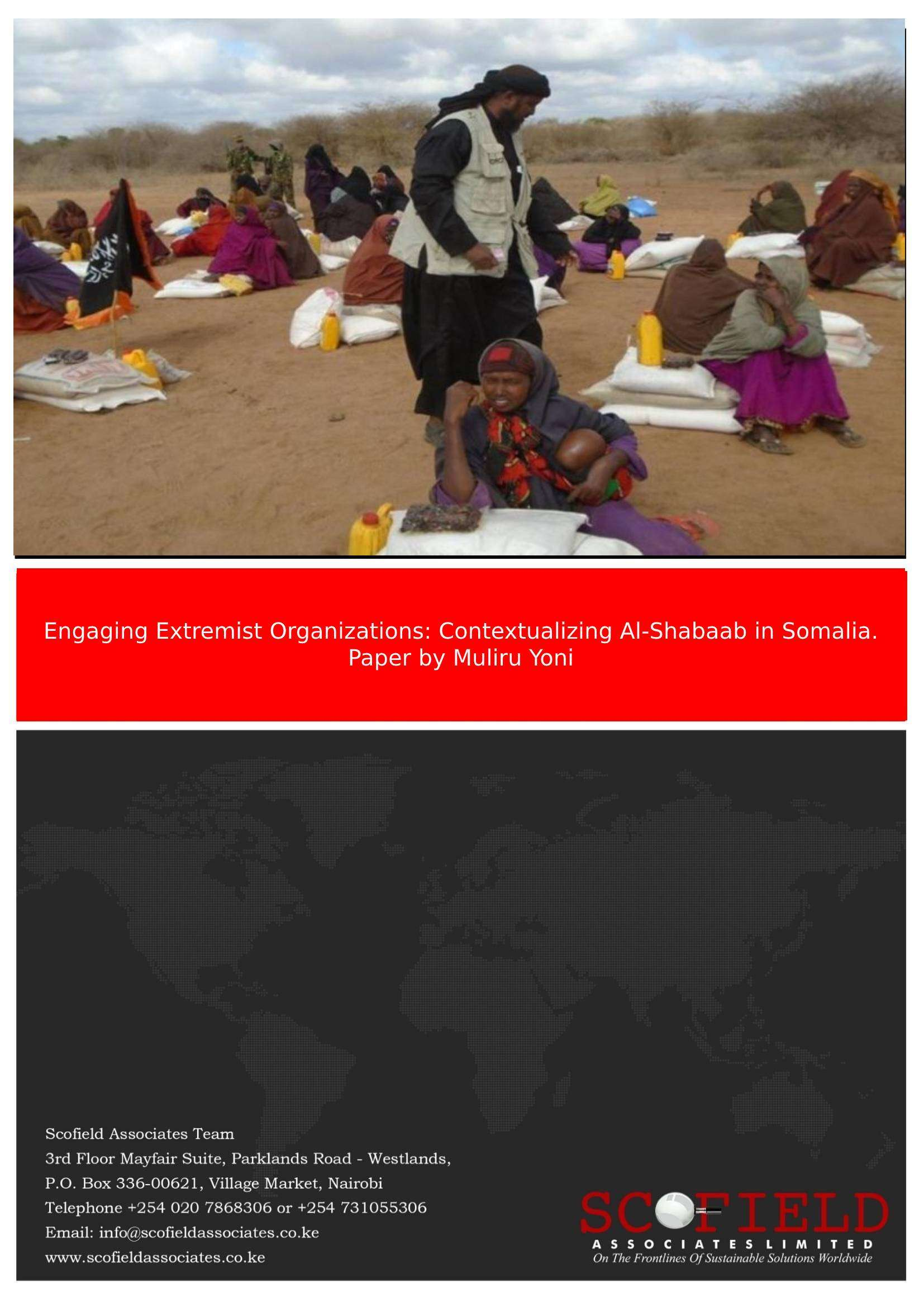 Engaging Extremist Paper Cover page
